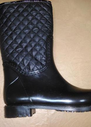 Утепленные резиновые сапоги 35-39 р. женские, ботинки, чоботи,...