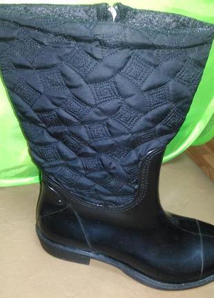 Утепленные резиновые сапоги 36-40 р. женские, ботинки, непромо...