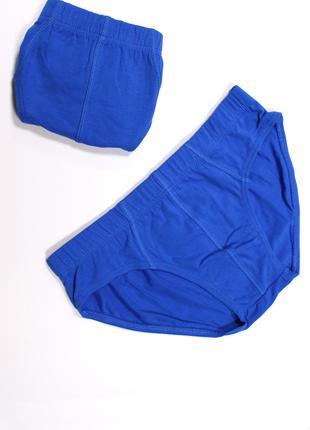 Трусы мужские синие