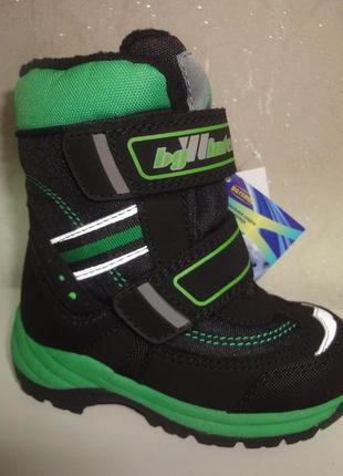 Зимние термо сапоги 25 р. на мальчика b&g сапожки, ботинки, зи...