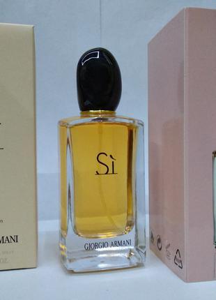 Женский парфюм Giorgio Armani Si 100мл EDP