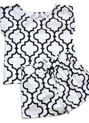 """Жіноча піжама """"Марокко"""", 100% бавовна"""