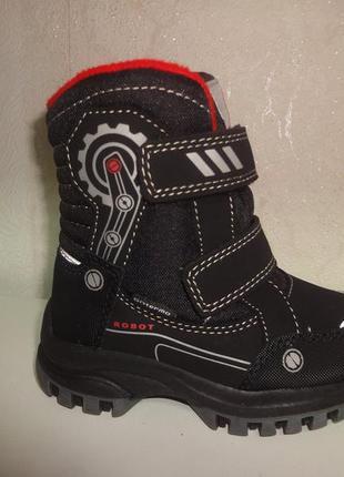 Имние термо сапоги 23 р. на мальчика b&g сапожки, ботинки, зим...