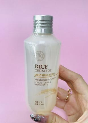 The Face Shop Rice & Ceramide Moisture Toner 275