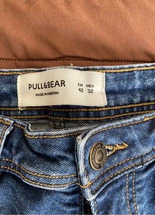 Продам джинсовые шорты Pull&Bear