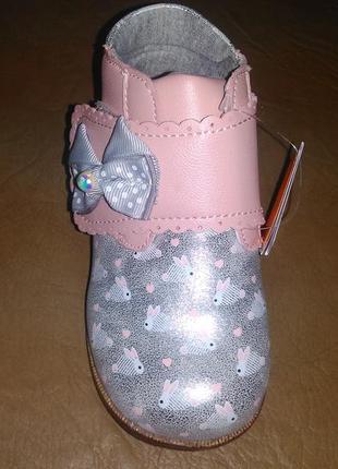 Ортопедические ботинки 19 р на девочку, демисезон, дівчинку, в...
