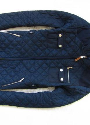 Стильная  утепленная куртка zara