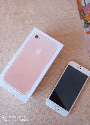 Идеальный iPhone 7 (Rose gold) 32gb