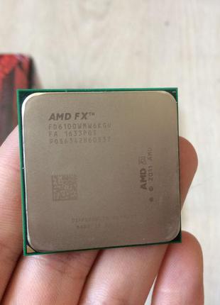Процессор AMD FX 6100 3.3GHz AM3+ tray б/у
