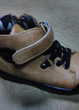 Демисезонные ботинки 22,24 р jong golf на мальчика, осенние, в...