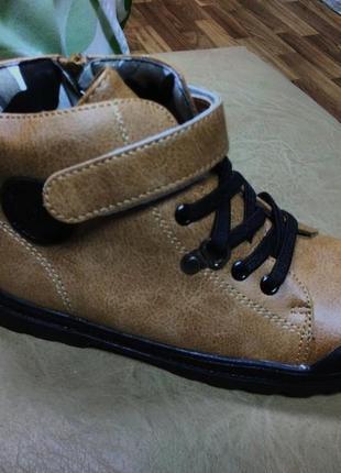 Демисезонные ботинки 29,30 р jong golf на мальчика, осенние, в...
