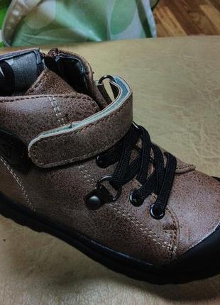 Демисезонные ботинки 23,25 р jong golf на мальчика, осенние, в...