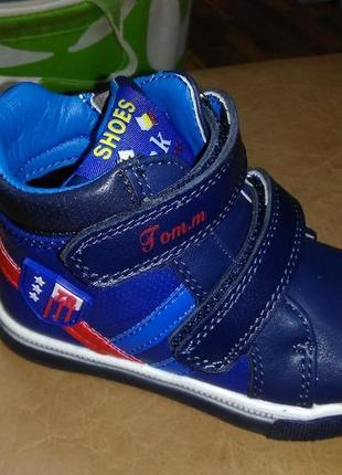 В наличии ботинки деми 26,27 р tom.m на мальчика, осенние, вес...