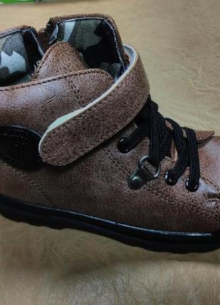 Демисезонные ботинки 27-31 р jong golf на мальчика, осенние, в...