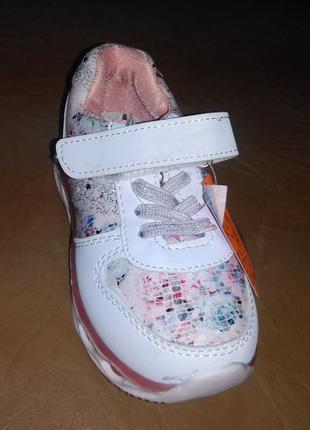 Кроссовки 27-30 р. y-top на девочку, кросовки, белые, уай топ,...