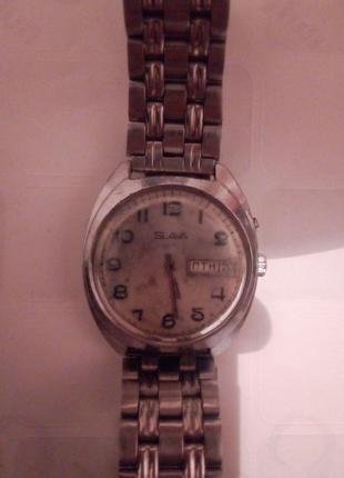 Часы Slava с автоподзаводом