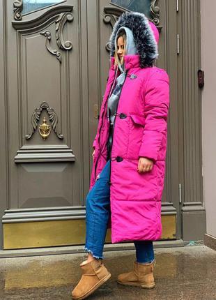 Нереальная зимняя новинка длинная куртка