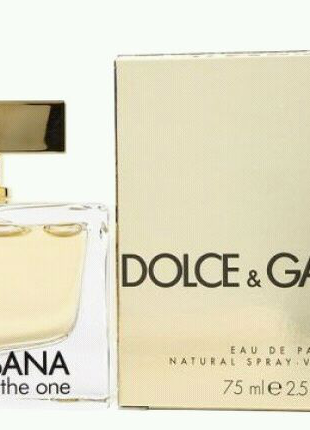 Dolce&Gabbana THE ONE 75 ml ЖЕНСКИЙ