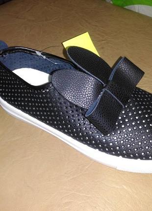 Летние туфли 32 р. gfb на девочку с ушками, кроссовки, кросовк...