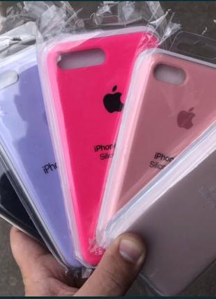Силиконовый чехол для iPhone Apple Silicone Case, айфон