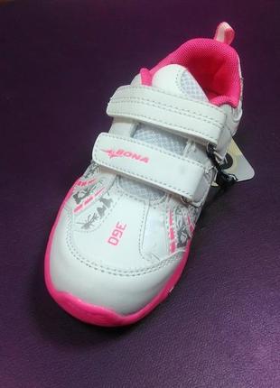 Светящиеся кроссовки 25,26 р. bona на девочку, бона, кросовки,...