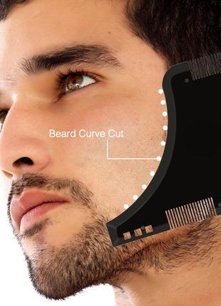 Мужская расческа для коррекции формы бороды