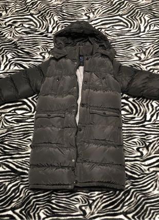 Зимняя куртка подростковая длинная