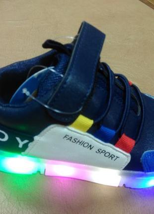 Светящиеся кроссовки w.niko
