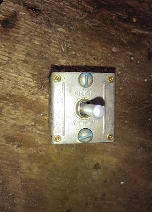 Переключатель нажимной герметизированный 2ПНГ-15к