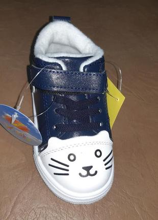 Демисезонные ботинки на девочку w.niko