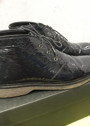 Миратон ботиночки лак кожа