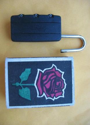 Навесной кодовый замок для чемодана (дорожной сумки).