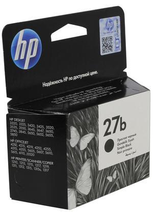Картридж для принтера и МФУ HP C8727BE №27 Simple Black