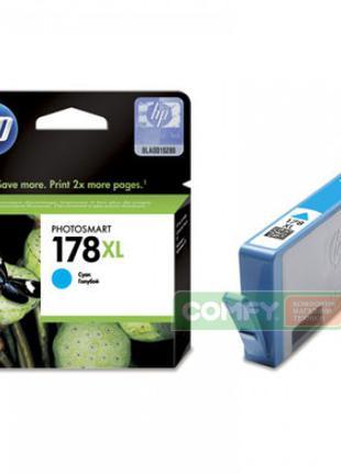 Картридж для принтера и МФУ HP CB323HE №178 Large Cyan XL