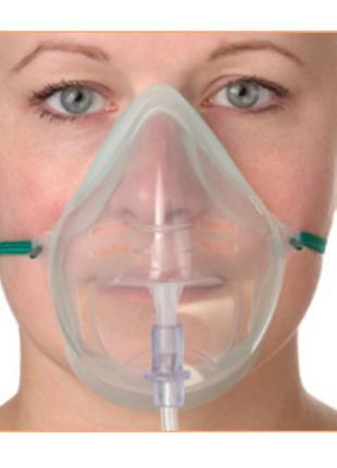 Маска кислородная для взрослых Intersurgical EcoLite