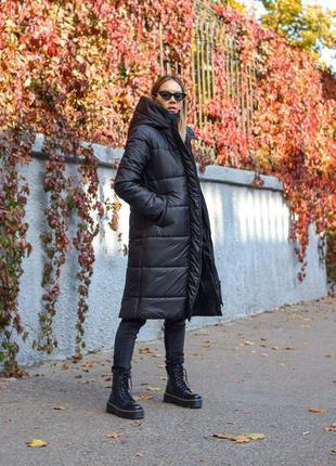 Зимняя куртка черный