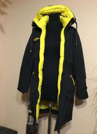 🔥стильная🔥 тёплая зимняя куртка парка холодная осень
