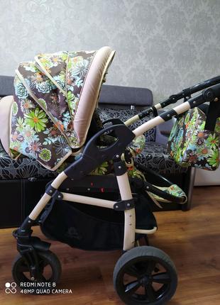Детская коляска 2 в 1 Anmar Hilux (Польша)