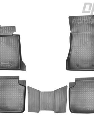 Коврики в салон BMW 7 (G12) (long) 3D 2015- (NorPlast)