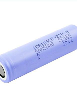 Аккумулятор 18650, Samsung 22P, 2200 mAh, 3.7V. Оригинал