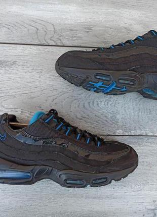 Nike air max 95 мужские кожаные кроссовки оригинал осень