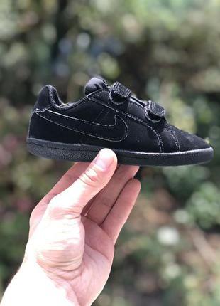 Nike court royale спортивні кросівки на ліпучках оригінал