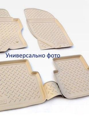 Коврики в салон BMW X5/X6 (F15) 2013- (БЕЖ) (NorPlast)