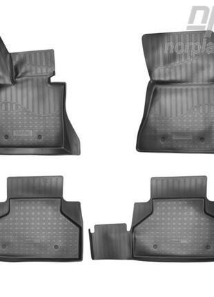Коврики в салон BMW X6 (F16/F86M) 2014- (NorPlast)