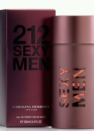 Carolina Herrera 212 SEXY MEN 100 ml МУЖСКОЙ