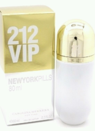 Carolina Herrera 212 Vip New York Pills 80 ml ЖЕНСКИЙ