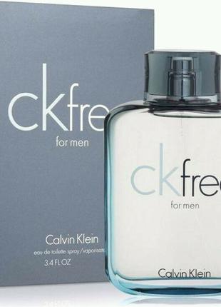 Calvin Klein free for men 100 ml МУЖСКОЙ
