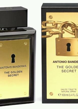 Antonio Banderas The Golden Secret 100 ml МУЖСКОЙ