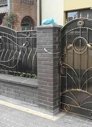 Ворота хвіртка паркан