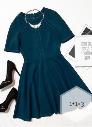 Asos базовое платье xs-s солнце клеш дайвинг мини короткий рук...